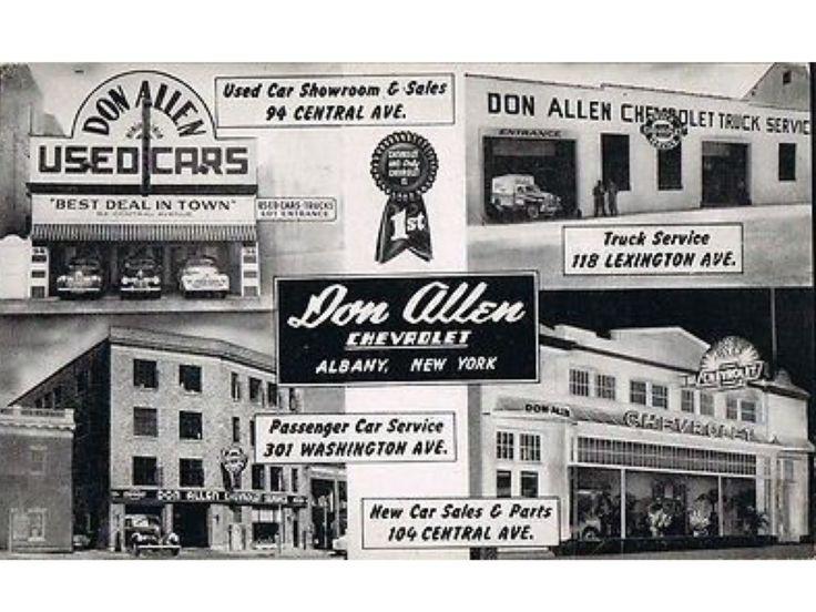 Don Allen Chevrolet Dealership, Albany, New York