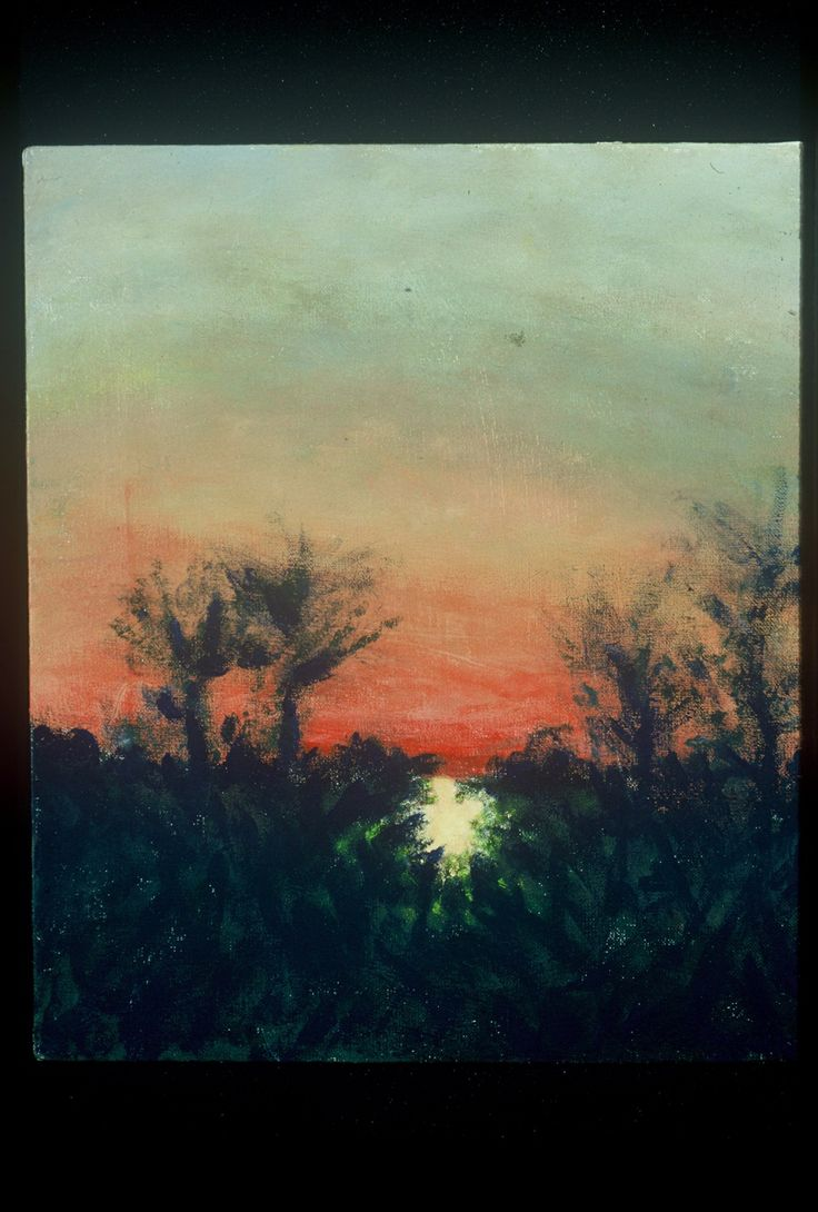 """Montclair Sunset"" 1992"
