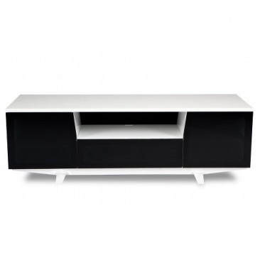 BDI Marina Home Theater Cabinet 8729-2 & BDI Mirana TV Stands | YLiving