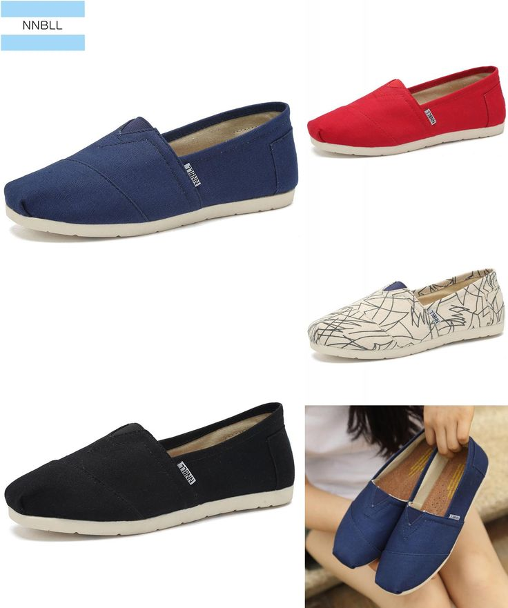 [Visit to Buy] 2017 Women's fashion flat shoes lazy's espadrilles Women Canvas Shoes Girls Loafers espadrilles Women Flats classic family shoes #Advertisement