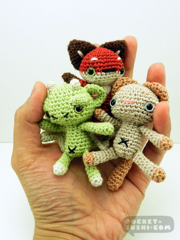 Miniature Amigurumi Doll : Best images about crazy for crochet on pinterest free