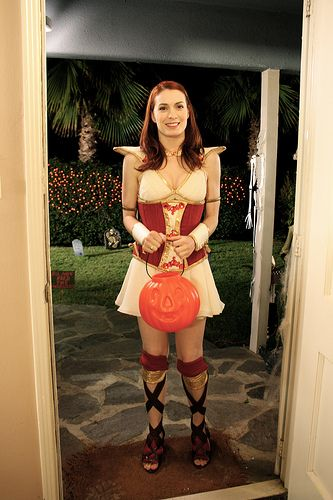 Codex (The Guild Halloween Special) If she showed up at my door I would DIE! Just chatting with her online makes me stupid