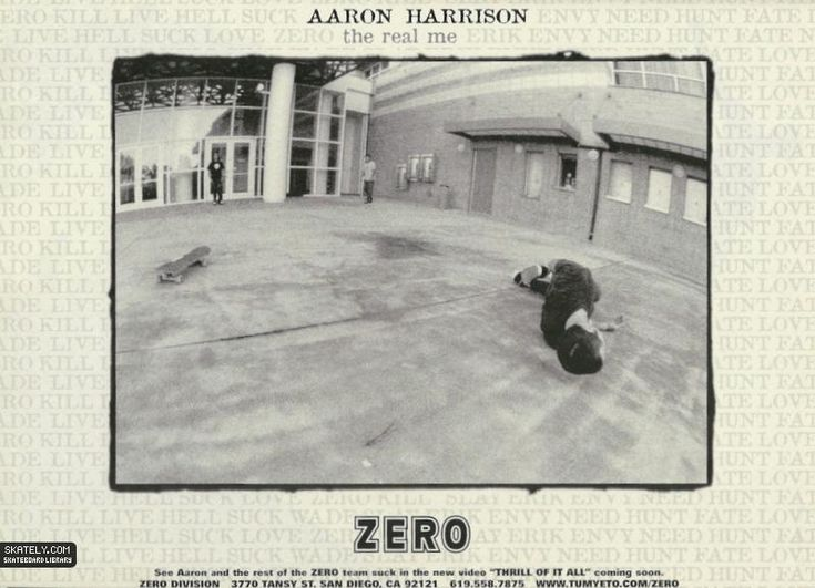 Zero Skateboards - The Real Me Ad (1997)