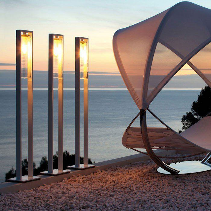 Best 25 lampadaire exterieur ideas only on pinterest for Eclairage jardin terrasse