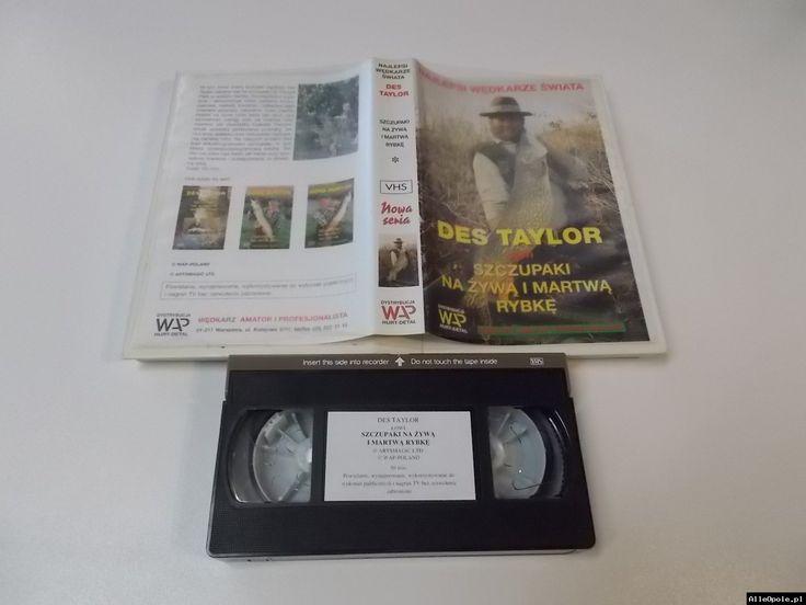 SZCZUPAKI NA ŻYWĄ I MARTWĄ RYBKĘ - VHS Kaseta Video - Opole 1703 (Opole)