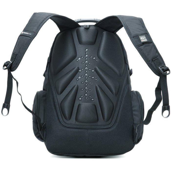Рюкзак Swisswin SW 9806 Черный / Black