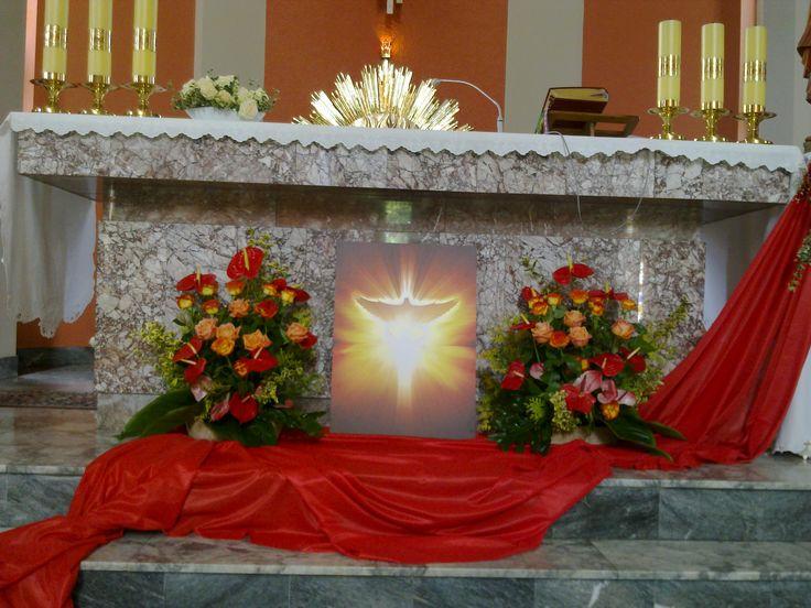 Zesłanie Ducha Św, (Pentecost) 2017
