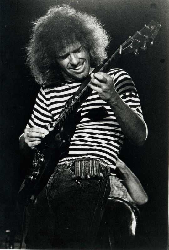 American jazz/pop/Latin/jazz-fusion guitarist Pat Metheny turns 59 today. He was born 8-12 in 1954. He's worked solo and with his group Pat Metheny Group as well as backed many including David Bowie (This Is Not America).
