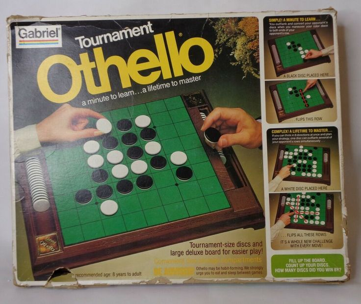 Details about Tournament Othello Large Deluxe Board