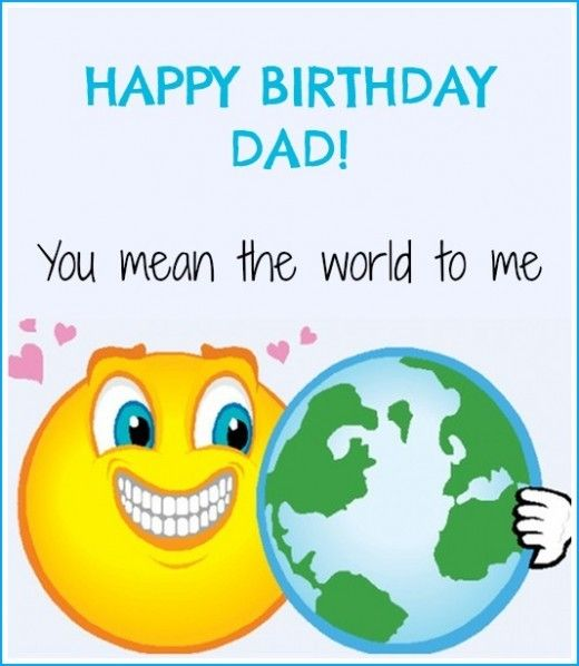 Happy Birthday Cards for Dad images and Pictures