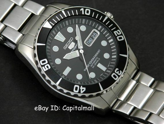 """Seiko SNZF17K1 """"Sea Urchin"""" Is Your Ultimate Submariner Styled Value Watch"""