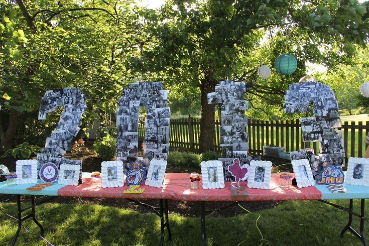 A really cool idea for a graduation party. For WAY down the road.