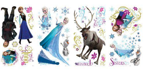 Disney Frozen Bedding & Room Decor. wall decals