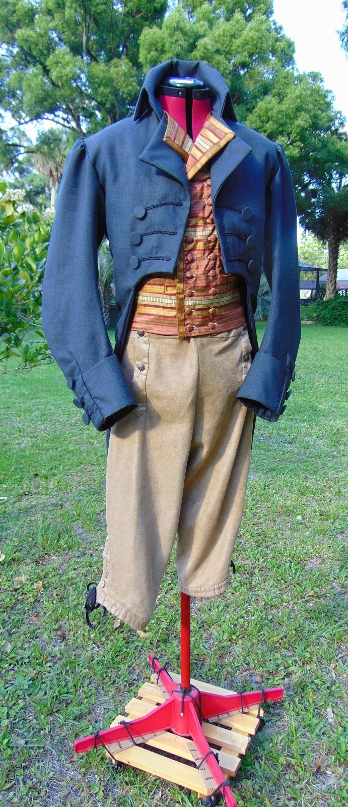 Il Sewist epoca: Progetto vestito 1795 Uomo - COMPLETO