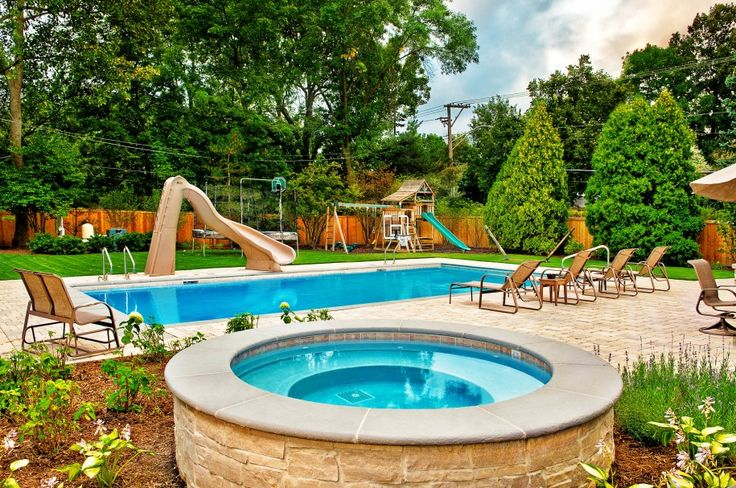 Swimming Pools Designs : Backyard With Wonderful Pool Design Ideas