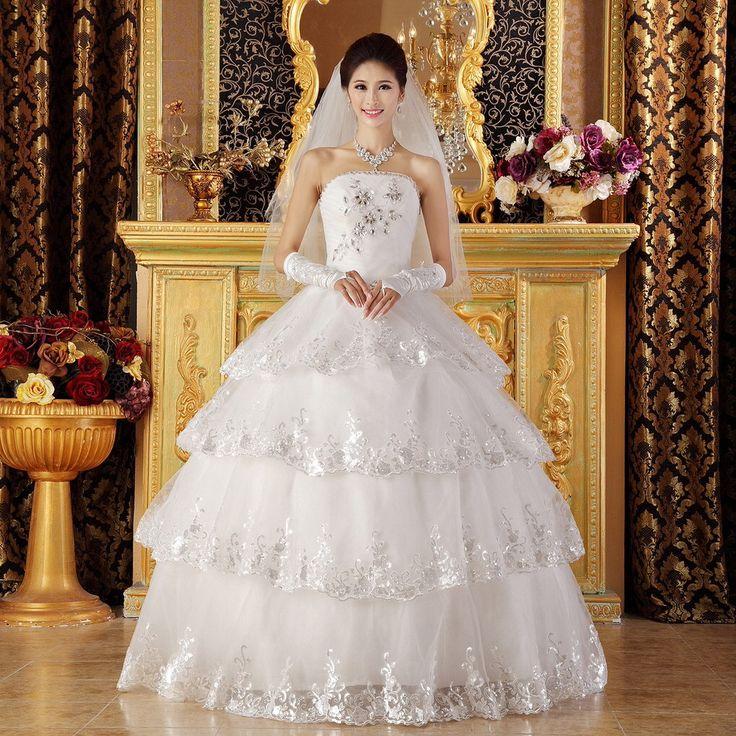diamond top wedding dress - photo #38
