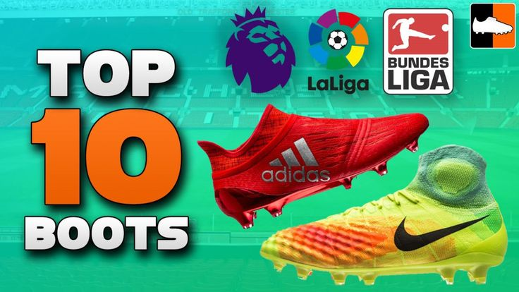 #Top10 #SoccerBoots 2017 - See the best #soccer boots expected to launch in 2017! Latest designs from #Adidas, #Nike, #Puma and #NewBalance http://www.gosoccertube.com/top-10-soccer-boots-2017/