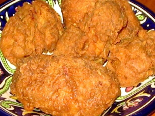 "Popeye s Spicy Fried Chicken (Copycat) - love their chicken!  								My copycat recipe for Popeye's ""Bonafide"" Spicy Fried Chicken."