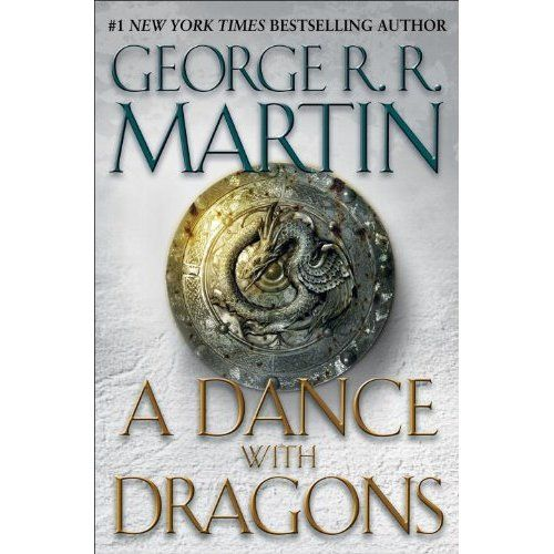 5th book of the series 'A Song of Fire and Ice' by George R. Martin.... I am hooked!!