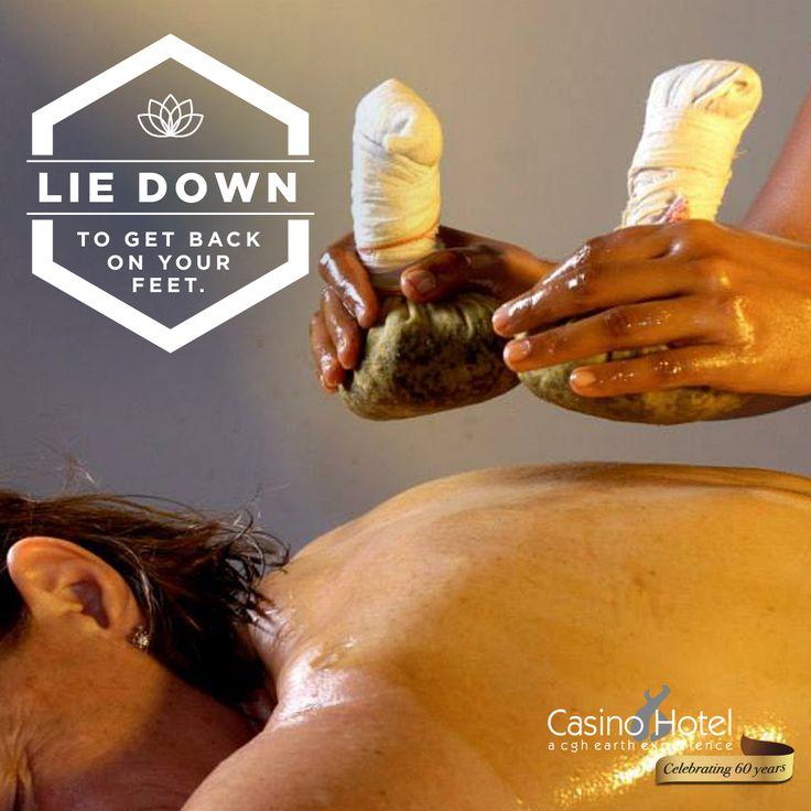Ayurvedic massage at the Tulsi Spa in Casino Hotel Kochi.