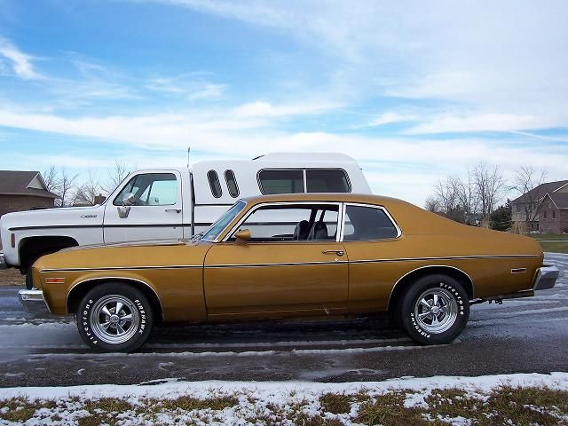 '74 Chevy Nova - My dad had one when I was a kid... I really liked it but at the time I think a lot of people thought it was ugly.