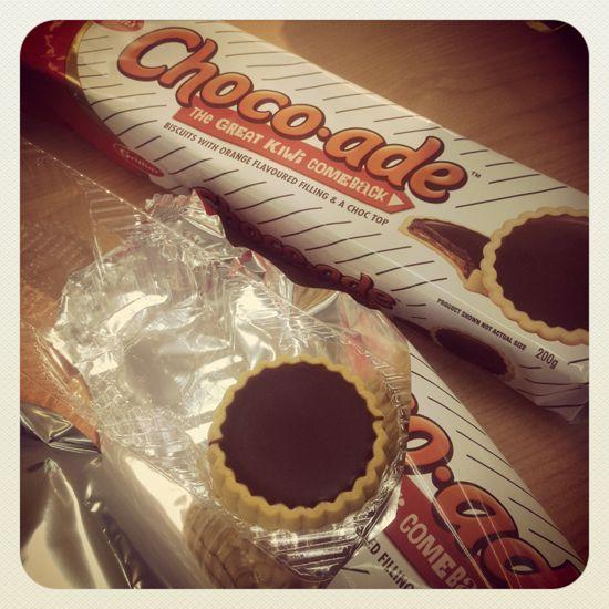 A classic NZ favourite has made a comeback! Mmmmm yummy Choco-ade! ♥