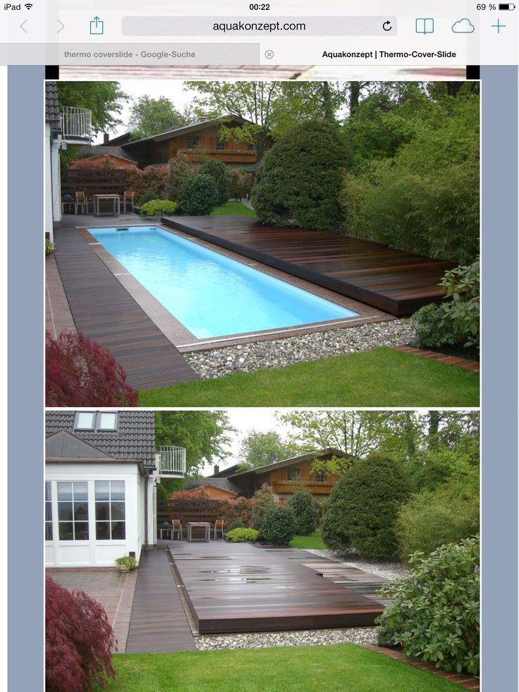 Sliding Pool Deck Chris King Design Designer Designs Designlife Gardeningtips If You Want To Relax Outside In T Pool Houses Pool Patio Garden Pool