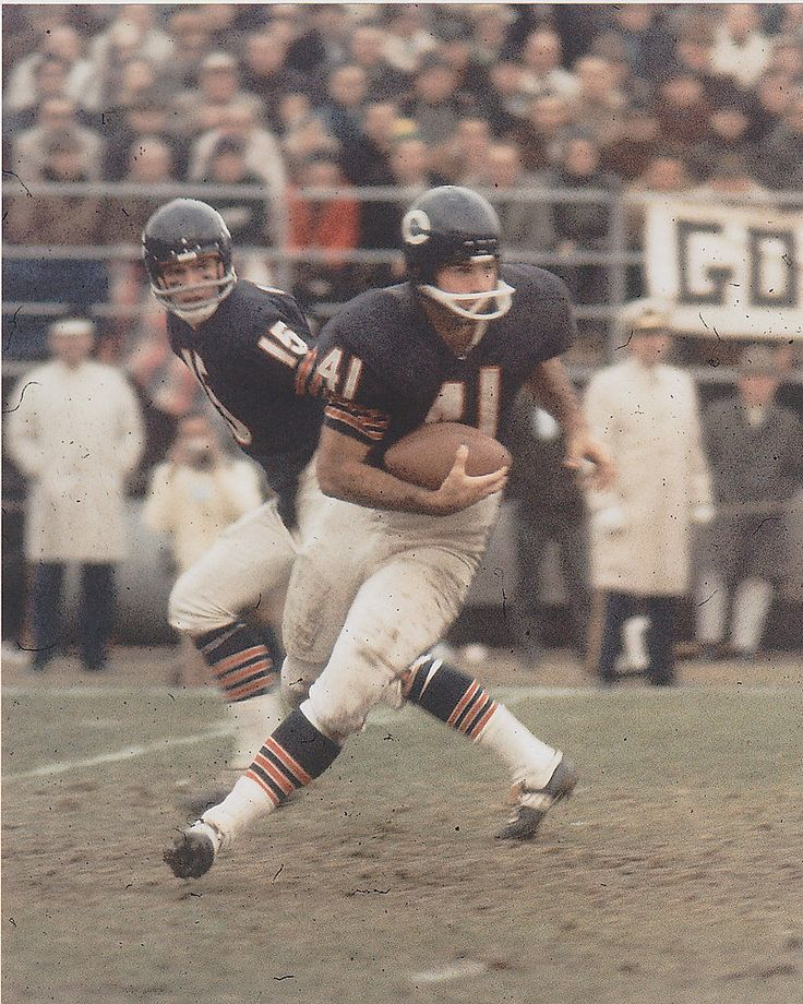 Brian Piccolo Chicago Bears 1965-69.