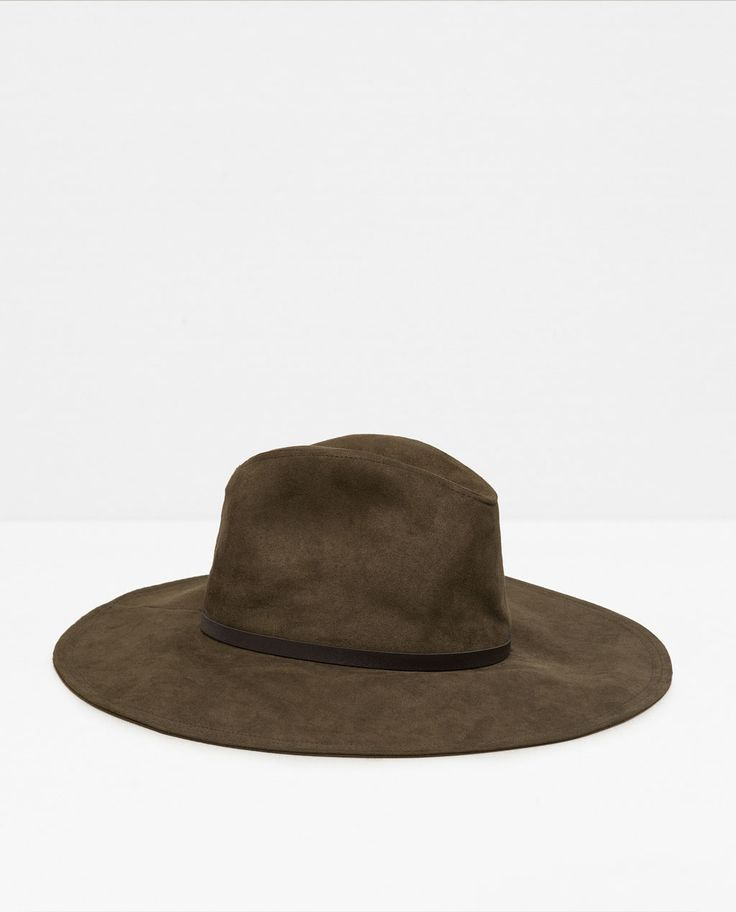 Image 2 of WIDE BRIMMED HAT from Zara 2000