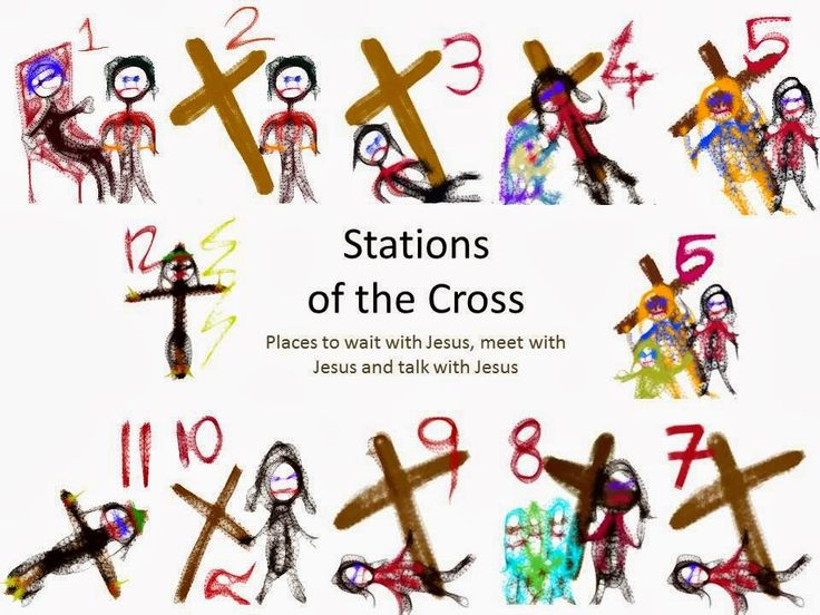 stations of the cross pictures pdf