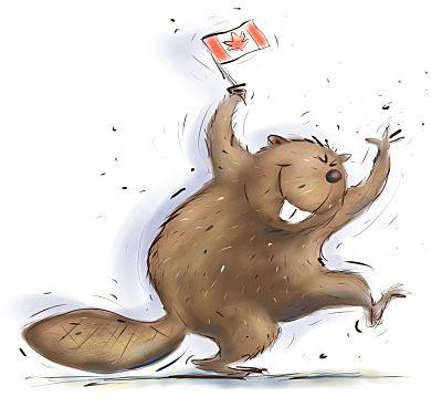 Happy beaver:)