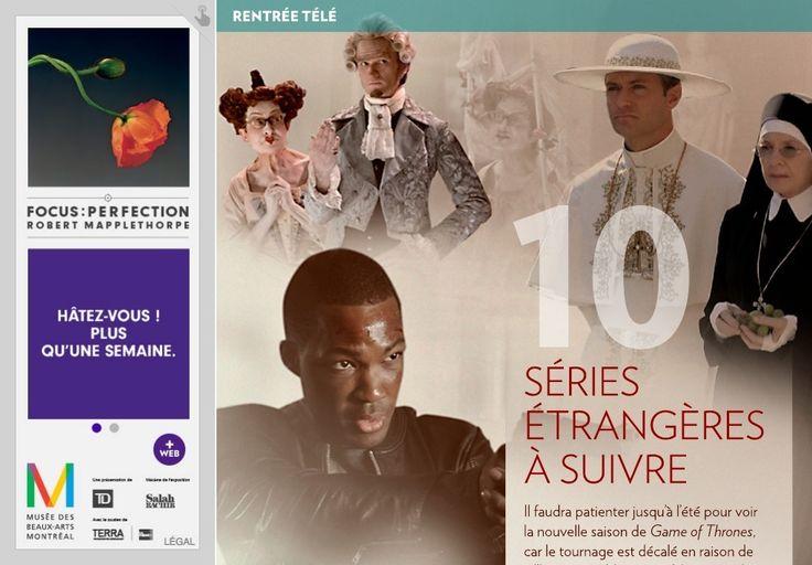 Dix séries étrangères àsuivre - La Presse+