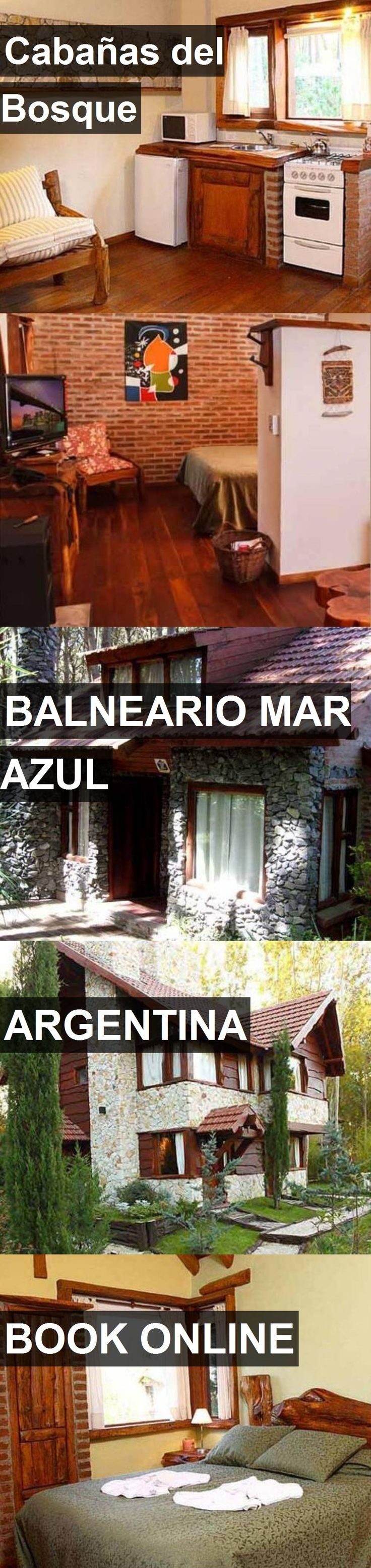 Hotel Cabañas del Bosque in Balneario Mar Azul, Argentina. For more information, photos, reviews and best prices please follow the link. #Argentina #BalnearioMarAzul #CabañasdelBosque #hotel #travel #vacation