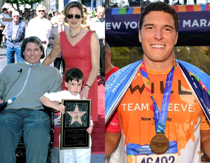 Will Reeve, son of Christopher and Dana Reeve