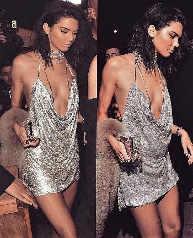 "Kendall Jenner rung in her 21st birthday wearing a $9,000 LaBourjoisie dress covered in Swarovski crystals. The piece was custom designed and deliberately meant to match Paris Hilton's 21st birthday dress, Jenner confirmed on her blog today: ""I wanted something that was part '20s, part 'vintage Paris Hilton vibes,' so I collaborated with the designer Antoine Salameh to create the perfect dress,"" she wrote…"
