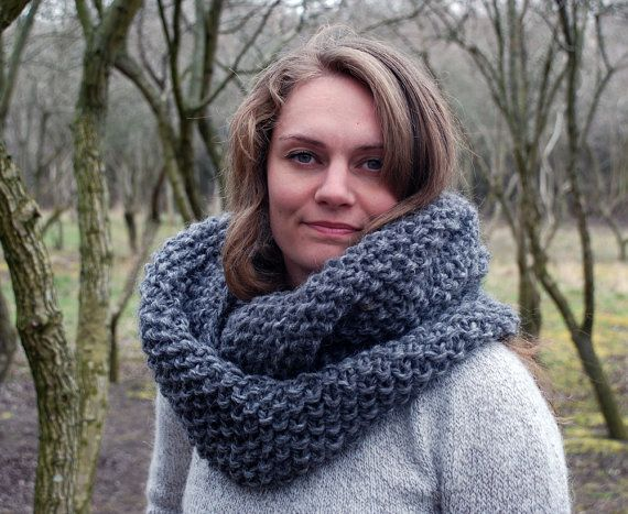 Infinity scarf - icelandic wool -super cosy and super warm