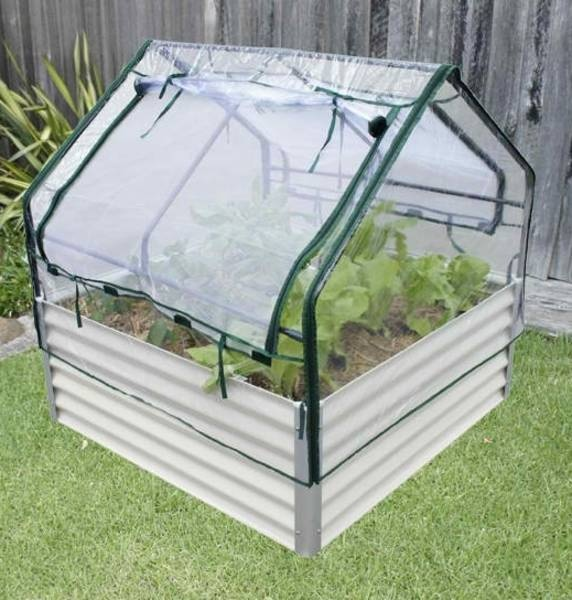 Garden Sheds~RAISED GARDEN BEDS Kits With Greenhouse And