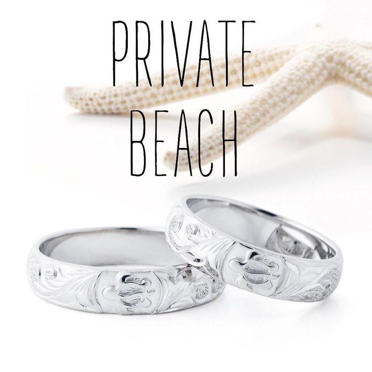 ハワイアンジュエリー リング 結婚指輪 婚約指輪 マリッジリング エンゲージリング エタニティリング ゴールド プラチナ ダイヤ 海 プライベートビーチ privatebeach  記念日 プレゼント 恋人 夫婦 亀 お守り 貝 ビーチ 砂浜 海岸 サーファー