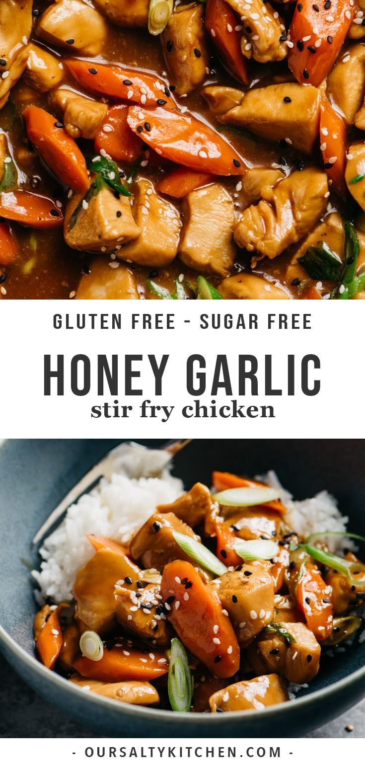 Healthy Honey Garlic Chicken