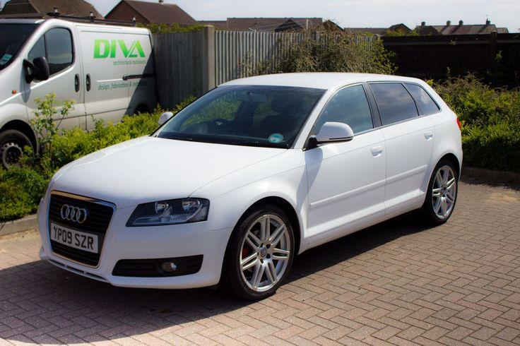 2009 audi a3 e sport tdi white  Audi Audi a3 and Car shop