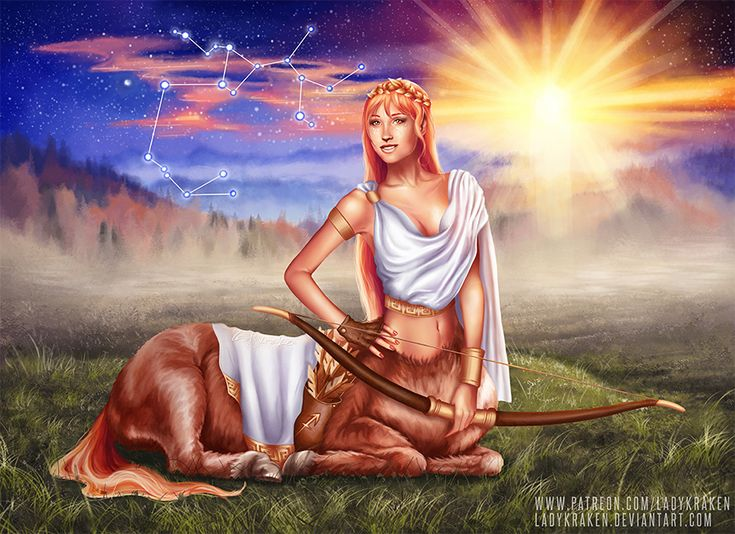Sagittarius OC - 12 Zodiac Ladies by LadyKraken.deviantart.com on @DeviantArt  #adventure #adventurous #archer #arrow #astrology #autumn #bellybutton #blue #boobies #bow #brown #centaur #constellation #digital #fall #fantasy #gijinka #ginger #golden #greek #greekmythology #horoscope #horse #humanization #jupiter #mythology #navel #painting #player #redhair #redhead #sagittarius #sexygirl #sun #tail #travel #traveler #zodiac #zodiacsigns #digitalartpainting #sagittariuszodiac #redbubble…