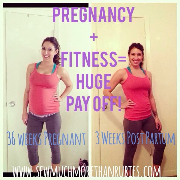 Working out while pregnant. A good read--especially for people who don't think it's possible!