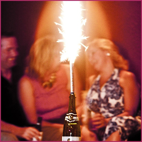 Champagne Bottle Sparklers 5