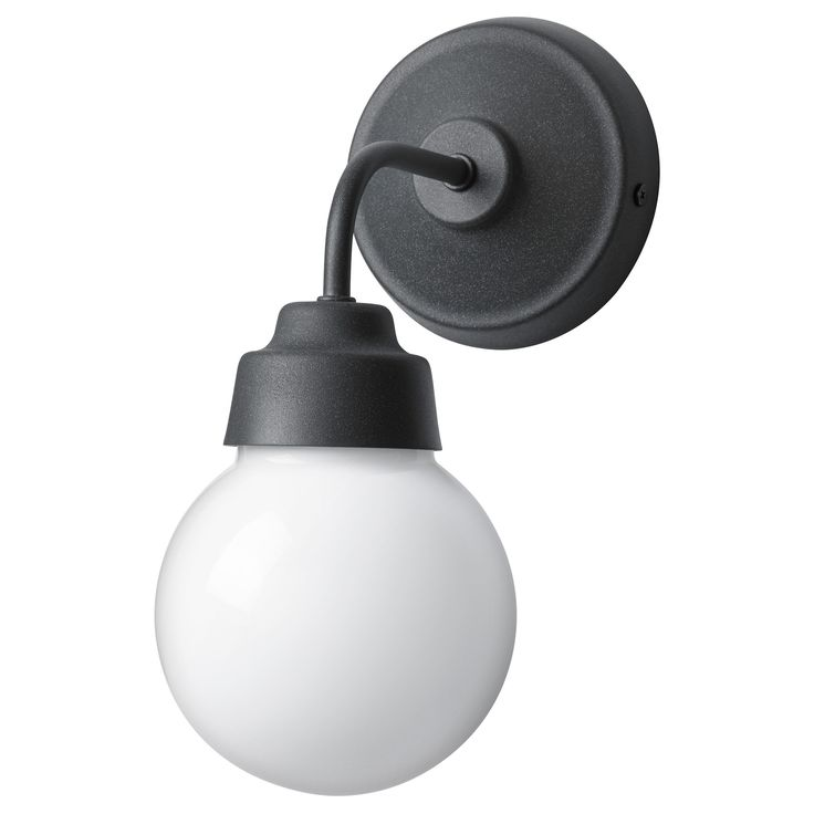 Bathroom  IKEA   VITEMÖLLA, Wall Lamp, Gives A Diffused Light Which Is Good  For Spreading Light Into Larger Areas Of A Bathroom.