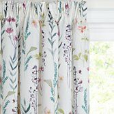 John Lewis Longstock Lined Pencil Pleat Curtains, Multi at John Lewis