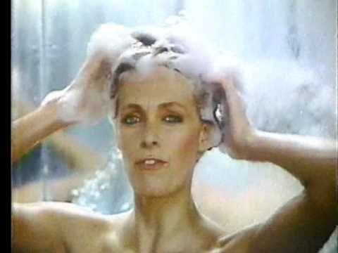 She's bouncing - but her hair is not! A 1980 commercial for Pert Shampoo.