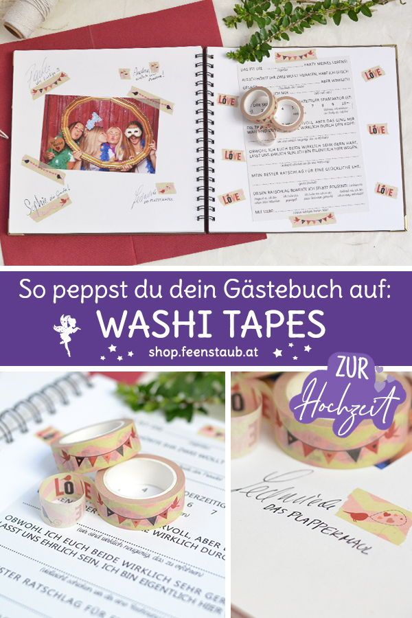 Washi Tape Hochzeit Geburtstag Kreative Gestaltung Shop Feenstaub At Hochzeitsgeschenk Hochzeitstisch Hochzeit