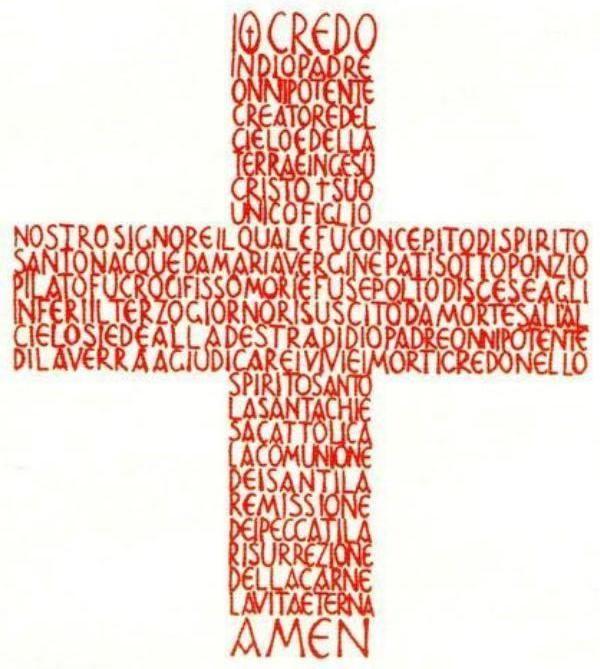 Credo Espanol Iconos del Camino Neocatecumenal