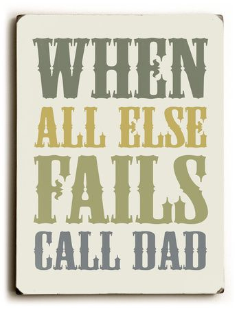 I miss not calling Dad. Always made me feel better. Sad without him.