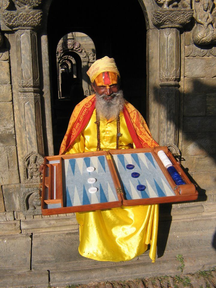 Nepal - Backgammon master;                    online backgammon> on.fb.me/1869cF3